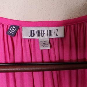 Jennifer Lopez Tops - Jennifer Lopez Hot Pink Blouse